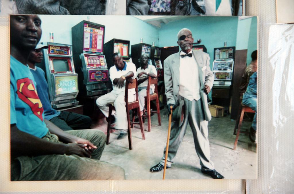 Photographie de Lamam à Brazzaville, années 1990.