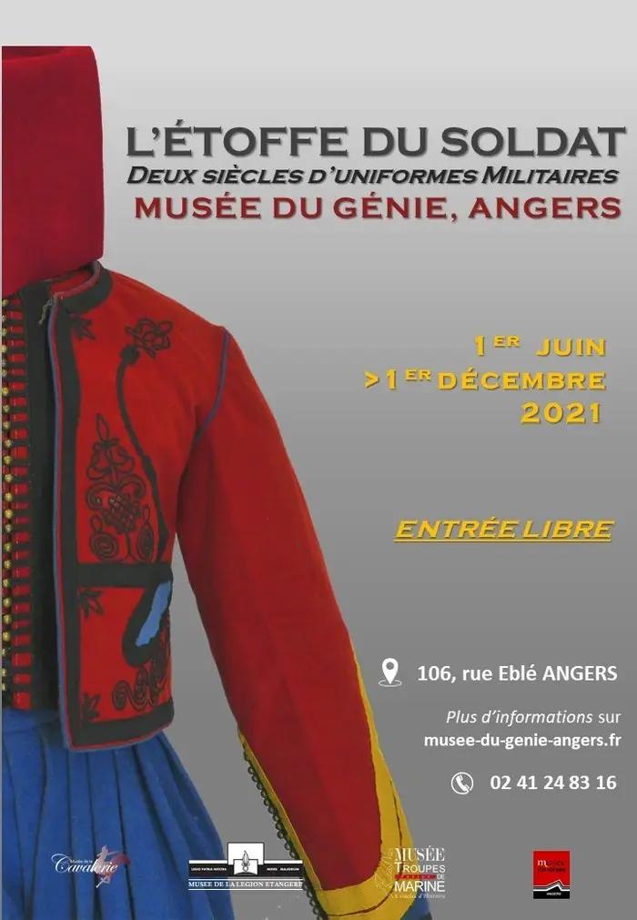 Read more about the article Exposition | L'étoffe du soldat – Musée du Génie, Angers